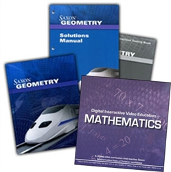 Saxon Geometry - Home School Bundle with DIVE CD