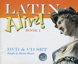 Latin Alive! Book 1 - DVD & CD set