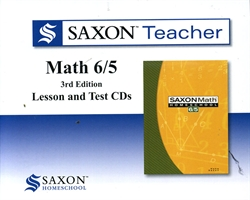 Saxon Math 6/5 - Teacher CDs