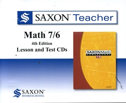 Saxon Math 7/6 - Teacher CDs