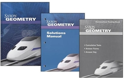 Saxon Geometry - Home Study Kit