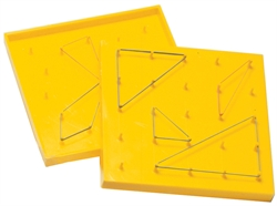 "5"" Plastic Geoboard (double-sided)"