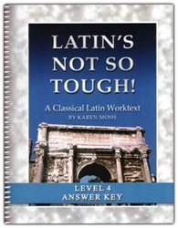 "Latin's Not So Tough! 4 - ""Full Text"" Answer Key"
