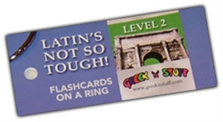 Latin's Not So Tough! 4 - Flashcards
