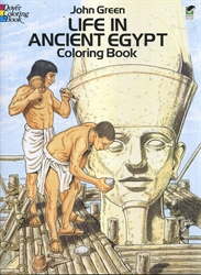 Life in Ancient Egypt - Coloring Book