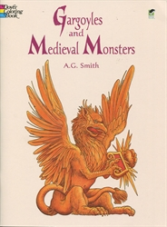 Gargoyles and Medieval Monsters - Coloring Book