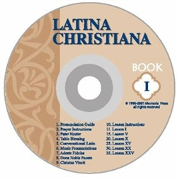 Latina Christiana Book I - CD (Ecclesiastical Pronunciation) (old)