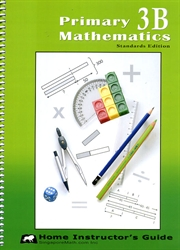 Primary Mathematics 3B - Home Instructor's Guide