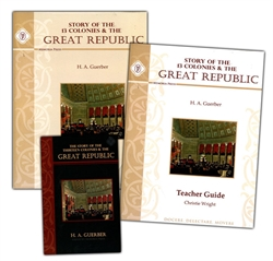 Story of the Thirteen Colonies & Great Republic - Set