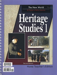 Heritage Studies 1 - Home Teacher Edition (old)