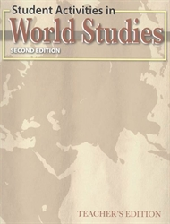 World Studies - Student Activities Teacher Edition (old)