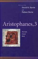 aristophanes biography notes Section 3: ancient greek comedy chapter 9: aristophanes  of course, as aristotle notes, people tend not to take comedy seriously, so nothing came of aristophanes.