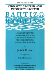Christic Baptism and Patristic Baptism