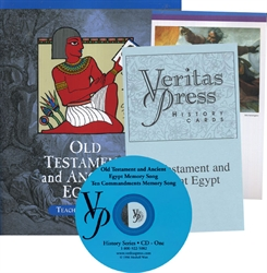 Veritas Press Old Testament & Ancient Egypt - Set