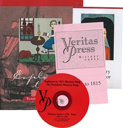 Veritas Press Explorers to 1815 - Set - Exodus Books
