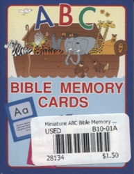 Miniature ABC Bible Memory Cards (old)