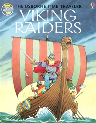 Time Traveler Book of Viking Raiders