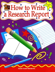 How to Write a Research Report (Grades 3-6)
