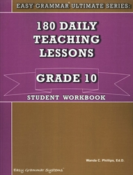Easy Grammar Ultimate Grade 10 - Student Workbook