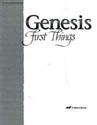 Genesis: First Things - Test Key (old)