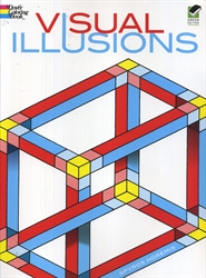 Visual Illusions - Coloring Book
