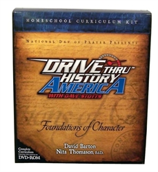 Drive Thru History America: Foundations of Character - Set