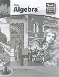 Key to Algebra 1-4 - Answers and Notes