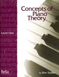 Concepts of Piano Theory - Level 1