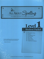 All About Spelling Level 1 - Student Materials Packet