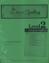 All About Spelling Level 2 - Student Materials Packet