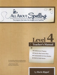 All About Spelling Level 4 - Teacher's Manual