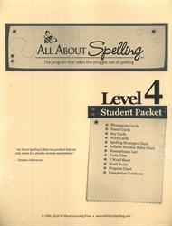 All About Spelling Level 4 - Student Materials Packet