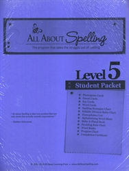 All About Spelling Level 5 - Student Materials Packet