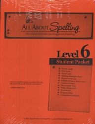 All About Spelling Level 6 - Student Materials Packet