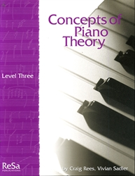 Concepts of Piano Theory - Level 3