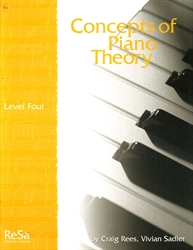 Concepts of Piano Theory - Level 4 - Exodus Books