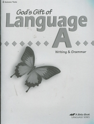 God's Gift of Language A - Test Book