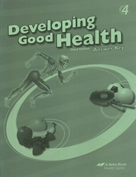 Developing Good Health - Answer Key
