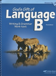 God's Gift of Language B - Answer Key