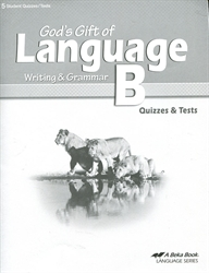God's Gift of Language B - Test Book - Exodus Books