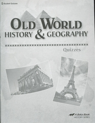 Old World History & Geography - Quiz Book