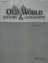 Old World History & Geography - Test Key