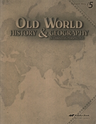 Old World History & Geography - Answer Key