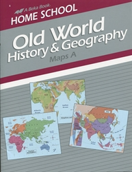 Old World History & Geography - Map A Book