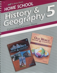 Old World History & Geography - Curriculum/Lesson Plans