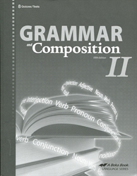 Grammar and Composition II - Test/Quiz Book