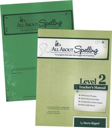 All About Spelling Level 2 - Teacher's Manual & Student Materials Packet