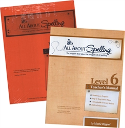 All About Spelling Level 6 - Teacher's Manual & Student Material Packet