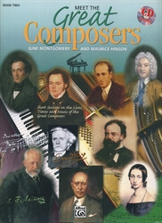 Meet The Great Composers Book 2 (with CD)