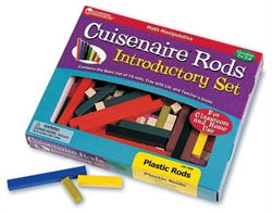 Cuisenaire Rods Introductory Set - Plastic Rods - Exodus Books